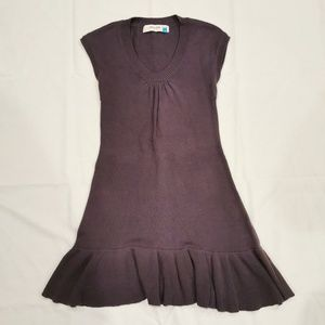 Sparrow | Cotton Angora Purple Sweater Dress